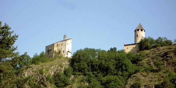 Sprechenstein ein massive Burganlage