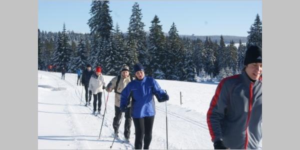 Winter auf dem Rabenberg, Erzgebirge