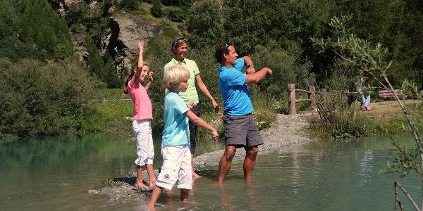 Badespass für die ganze Familie beim Schalisee