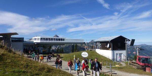 Berstation Vogelhornbahn am Neunerköpfler