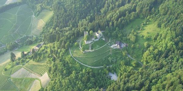 Die Schauenburg über Oberkirch
