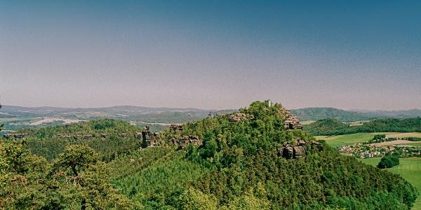 Papststein und Kleinhennersdorfer Stein