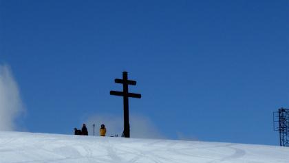 Viel besuchter Gipfel