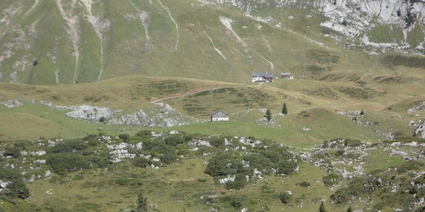 Schadonaalpe und Biberacher Hütte