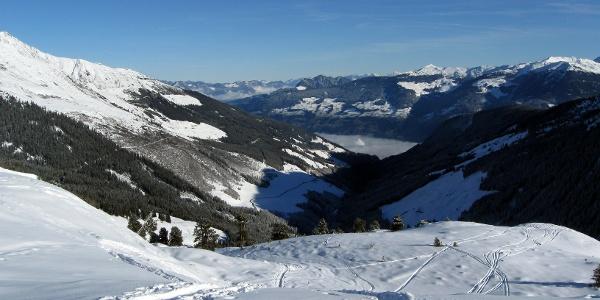 Sonntagsköpfl ausgehend von Hochfügen • Skitour