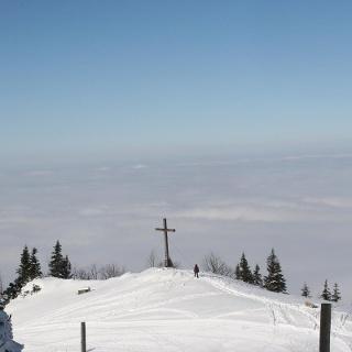 Andachtskreuz Winterwandern