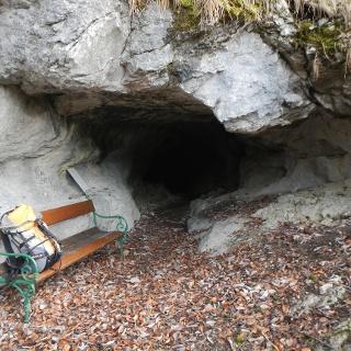 Eingang zur Paulinenhöhle