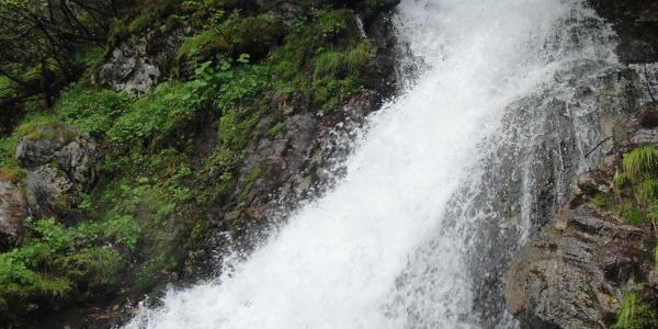 Oberer Lauf der Wasserfall