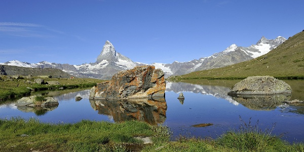 A detour to the Stellisee is well worth making