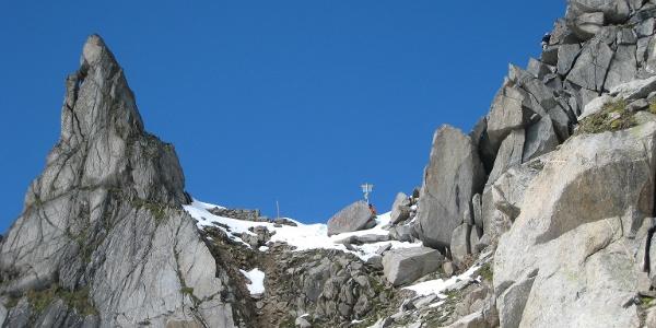 Gamsscharte von der Salzburger Seite