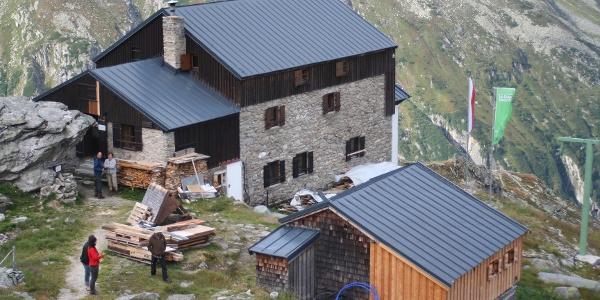 Plauener Hütte - Nord-Ost-Ansicht