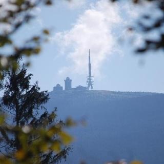 Blick auf den Brocken (Foto: Bennet Dörge)