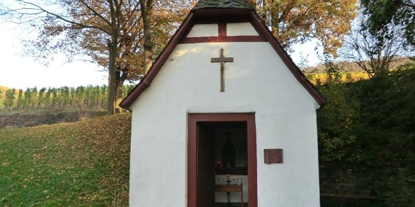 Chapel close to the Mesenich recreational area