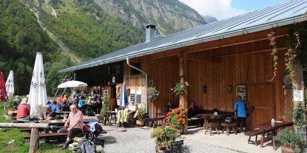 Alpe Oberau im Sommer