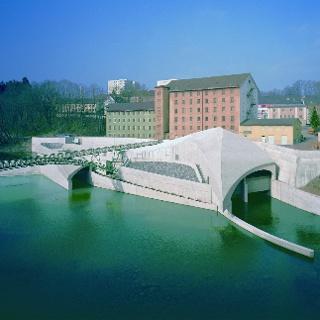 Wasserkraftwerk des Allgäuer Überlandwerkes