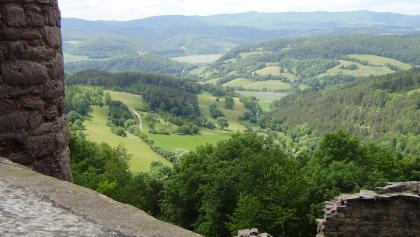 Blick auf Ludwigstein