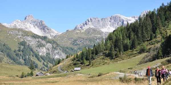 Faulkogel mit Mosermandl von Südwesten