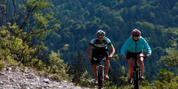 Mountainbiketour Drei Marken