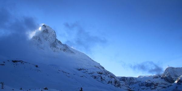 Entlang der Matterhorn Nordwand