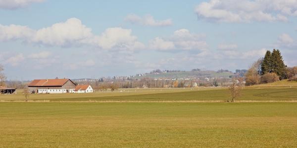 Landschaft bei Zell.