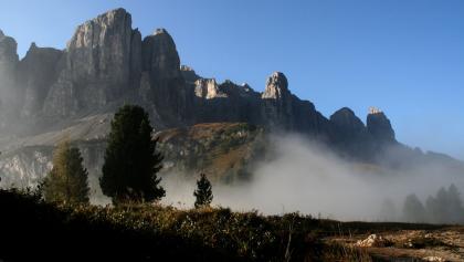 Hochalpines Flair auf dem Kolfuschger Höhenweg