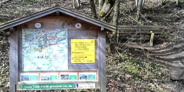 Jägersteig - Weganfang