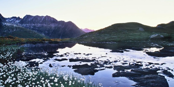 Bergsee auf dem Oberalppass