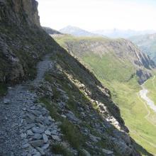 Steig durch das Teischnitztal zu Stüdelhütte