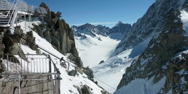 Bergstation der Aiguille des Grands Montets
