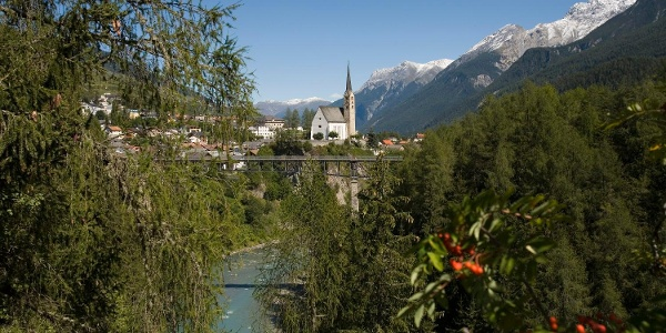 Uina-Bernina Bike-Tour. Etappe 1, Scuol - Sta. Maria