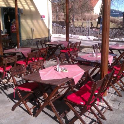 Café Caballero - Terrasse